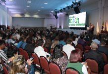 Uma das muitas palestras realizadas durante o II Fórum de Gestão Ambiental